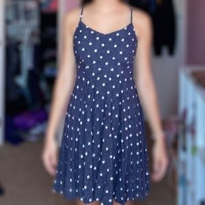 Blue and white old navy dress